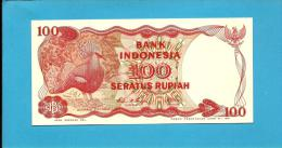 INDONESIA - 100 Rupiah - 1984 - P 122.b - UNC. - Série SNL - 2 Scans - Indonesia