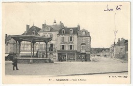 36 - ARGENTON - Place D´Armes - BF 67 - Kiosque - Altri Comuni