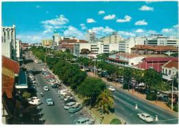 # CARTOLINA KENIA – NAIROBI - KENYATTA AVENUE VIAGGIATA 1968 VERSO TORINO  – INDIRIZZO OSCURATO PER PRIVACY CONDIZIONI B - Kenia