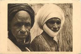 Pays Divers- Afrique -ref D768- Tchad - Type De Foulbés De Binder -pere Et Fils  - Carte Bon Etat - - Tchad