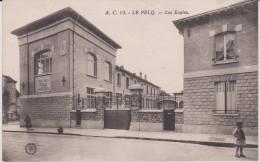 Yvelines :  LE  PECQ  : Les  écoles - Le Pecq