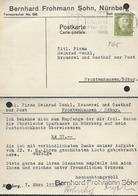 GERMANIA - GERMANY   1933 POST CARD - Germany
