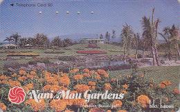 Télécarte Japon - HAWAII - Jardin Botanique NANI MAU - Botanical Garden Japan Phonecard USA Rel./ 110-011  - 160 - Landschappen