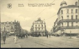 Oostende : Van Iseghem Laan En Langestraat - Oostende