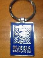 EXPO MILAN  2015. Souvenir Spécial PORTE CLEFS  Du Pavillon De La Russie  (magnifique !) état Neuf Non Utilisé - Llaveros
