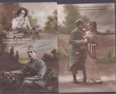 FranceWWI: ROMANCE In WAR - Postcards