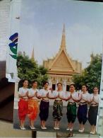 CAMBOGIA KHMER COSTUMI RAGAZZE GIRL   N1990   EW1696 - Cambogia