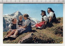 Trachtenkinder Im Berner Oberland - Eiger - Costumes