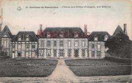 28 - PONTGOUIN - Château De La Rivière - 2 Scans - France
