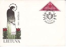 Lithuania  , 1991 , FDC - Lithuania