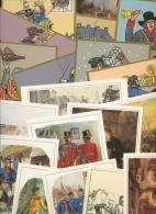 Bund 500 Jahre Post, Jubiläumskarten D. Deutschen Post 20 Karten M. SST (XL9829) - Briefmarken
