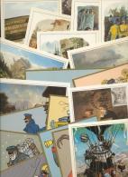 500 Jahre Post, Jubiläumskarten Der Deutschen Post 20 Karten Mit SST (XL9830) - Briefmarken
