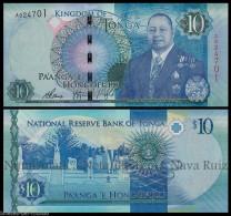 TONGA 10 PA´ ANGA 2015 King Tupou VI PICK NEW 46 SC UNC - Tonga