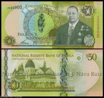 TONGA 50 PA´ ANGA 2015 King Tupou VI PICK NEW 48 SC UNC - Tonga