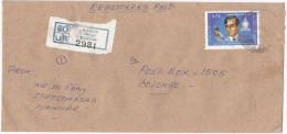 Registered MANNAR SRi LANKA COVER Stamps BILLIARDS Sport - Sri Lanka (Ceylon) (1948-...)