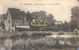 CPA 59  BETHUNE JARDIN DES SPORTS LE LAC ET LE CHALET - Autres Communes
