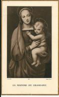 Image Pieuse ...Généalogie ... Communion  La Madone Du Grand Duc    MARIE BLANCHE  BOUSQUET  MAI 1936 - Devotion Images