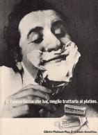 # GILLETTE BLADES 1960s Advert Pubblicità Publicitè Reklame Lamette Rasoio Lames Rasoir Cuchillas Klingen - Razor Blades
