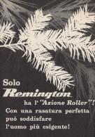 # ELECTRIC SHAVER REMINGTON 1950s Advert Pubblicità Publicitè Reklame Razor Rasoio Rasoir Rasuradora - Razor Blades