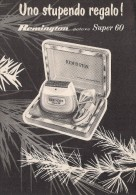 # ELECTRIC SHAVER REMINGTON 1950s Advert Pubblicità Publicitè Reklame Razor Rasoio Rasoir Rasuradora - Lames De Rasoir