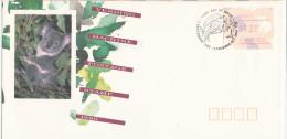 Australia FDC Canberra 3-9-1990 ATM FRAMA Label 1.20 Au. $ With Koala On Label And Nice Cachet - ATM - Frama (vignette)