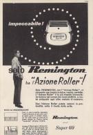 # ELECTRIC SHAVER REMINGTON Type1 1950s Advert Pubblicità Publicitè Reklame Razor Rasoio Rasoir Rasuradora - Razor Blades