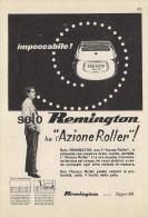 # ELECTRIC SHAVER REMINGTON Type2 1950s Advert Pubblicità Publicitè Reklame Razor Rasoio Rasoir Rasuradora - Lames De Rasoir
