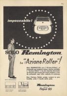 # ELECTRIC SHAVER REMINGTON Type3 1950s Advert Pubblicità Publicitè Reklame Razor Rasoio Rasoir Rasuradora - Razor Blades