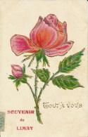 Souvenir De Limay (78 - Yvelines) Roses - Tout à Vous - Carte Gauffrée - Souvenir De...