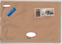 """France Cover Sent To Lithuania 2014 Plane Janne D""""Arc - France"""