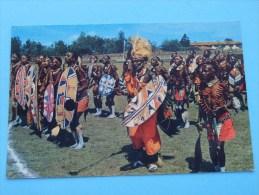 AFRICAN DANCERS () Anno 19?? ( Zie Foto Details ) !! - Cartes Postales