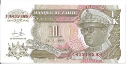 ZAIRE - 1 Nouveau Zaïre 1993 UNC - Zaire