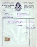 BELGIQUE - PEPINSTER - ACCESSOIRES VELOS ET MOTOS - CYCLES IDEAL , SAFIL - J. LAHAYE & FILS - 1953 - Belgique