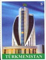 Turkmenistan 2008 Architecture 1v IMPERFORATED MNH - Turkmenistan