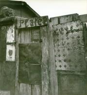 France Paris WWII Guerre Occupation Allemande Bidonville Porte D'Ivry Ancienne Photo 1942