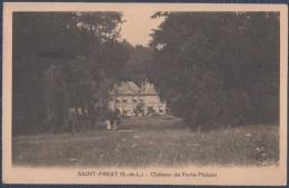 Saint-Prest.Château De Forte-Maison. - France