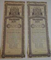 2 Titres : Deuda Amortizable à Madrid - Banque & Assurance