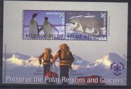 Belgie 2009 Polar Regions BF 166 *** PLAKPRIJS OPRUIMING *** - Blocs 1962-....
