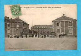 Saint-Quentin. - Caserne Du 87e Régiment D'Infanterie. - Attelage. - Saint Quentin