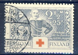 ##K1401. Finland 1934. Red Cross. Michel 186. Cancelled(o) - Finlande