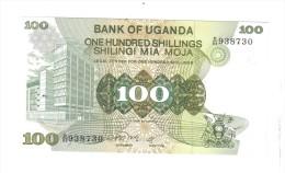 Uganda 100 Shillings Pik 14 1979 Unc LOTTO 1073 - Oeganda