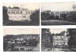 7723 - 28 - Lot De 4 CPA De GILLES (eure Et Loir) - France
