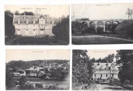 7723 - 28 - Lot De 4 CPA De GILLES (eure Et Loir) - Frankrijk