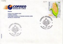 Argentinien 2003. Philately. Briefmarkenausstellung BANGKOK 2003 (5.874) - Argentinien