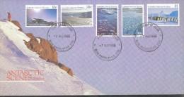 Australische Gebiete In Der Antarktis  - Mi.Nr.  64+67+68+71+72   Gestempelt - Australien