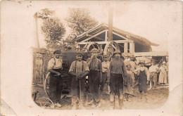 ¤¤  -   Carte-Photo   -  Agriculteurs , Machine Electrique , Battage    -   ¤¤ - Farmers