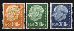 Saar,426-28,o,gep. - 1957-59 Bundesland