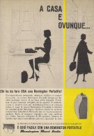 # REMINGTON RAND ITALIA Typewriter 1950s Advert Pubblicità Publicitè Reklame Machine A Ecrire Schreibmaschine - Other Collections