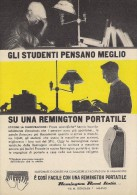 # REMINGTON RAND ITALIA Typewriter 1950s Advert Pubblicità Publicitè Reklame Machine A Ecrire Schreibmaschine - Other