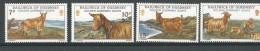 Guernesey: 204/ 207 **  Chèvres Dorées De Guernesey - Non Classificati